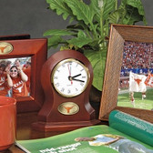 Texas Longhorns Desk Clock