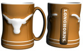 Texas Longhorns Coffee Mug - 15oz Sculpted