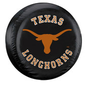 Texas Longhorns Black Spare Tire Cover