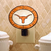 Texas Longhorns Art Glass Nightlight