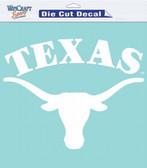 "Texas Longhorns 8""x8"" Die-Cut Decal"