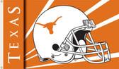 Texas Longhorns 3 Ft. x 5 Ft. Flag w/Grommets - Helmet Design