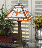"Texas Longhorns 23"" Mission Lamp"