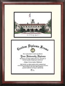 Texas A&M University, Kingsville Scholar Framed Lithograph with Diploma