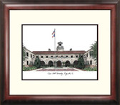 Texas A&M University, Kingsville Alumnus Framed Lithograph