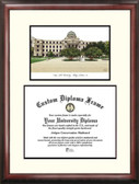 Texas A&M University, College Station Scholar Framed Lithograph with Diploma