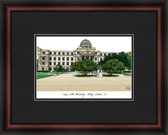 Texas A&M University, College Station Academic Framed Lithograph