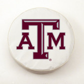 Texas A&M Aggies White Tire Cover, Large
