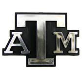 Texas A&M Aggies Silver Auto Emblem