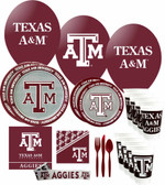 Texas A&M Aggies Party Supplies Pack #3