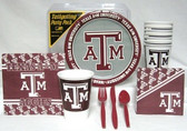 Texas A&M Aggies Party Supplies Pack #1