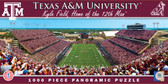 Texas A&M Aggies Panoramic Stadium Puzzle