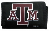 Texas A&M Aggies Nylon Trifold Wallet