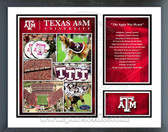 Texas A&M Aggies Milestones & Memories Framed Photo