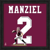 Texas A&M Aggies Johnny Manziel 20x20 Framed Uniframe Jersey Photo