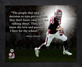 Texas A&M Aggies Johnny Manziel 11x14 Texas A&M Aggies Pro Quote