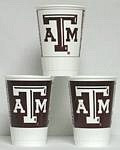 Texas A&M Aggies 16 oz Cups