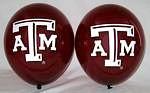 "Texas A&M Aggies 11"" Balloons"