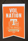 Tennessee Volunteers Wool Nations Banner