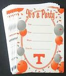 Tennessee Volunteers Party Invitations
