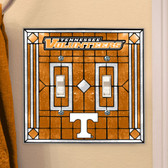 Tennessee Volunteers Double Lightswitch Cover