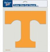 "Tennessee Volunteers Die-Cut Decal - 8""x8"" Color"