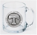 Tennessee Volunteers Clear Coffee Mug Set