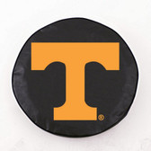 Tennessee Volunteers Black Tire Cover, Small