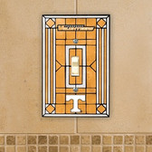 Tennessee Volunteers Art Glass Switch Cover