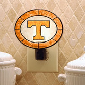 Tennessee Volunteers Art Glass Nightlight