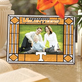 Tennessee Volunteers Art Glass Horizontal Picture Frame