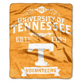 "Tennessee Volunteers 50""x60"" Royal Plush Raschel Throw Blanket -  Label Design"