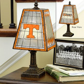 "Tennessee Volunteers 14"" Art Glass Table Lamp"
