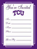 TCU Horned Frogs Formal Invitations