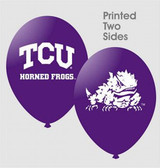 "TCU Horned Frogs 11"" Latex Balloons"
