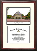 Stanford University Scholar Framed Lithograph with Diploma