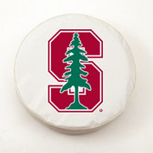 Stanford Cardinals White Tire Cover, Small