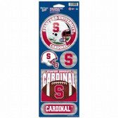 Stanford Cardinal Prismatic Stickers