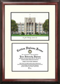 St. John's University Scholar Framed Lithograph with Diploma