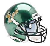 South Florida Bulls Schutt Mini Helmet - Green Alternate Helmet #1