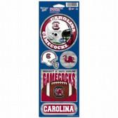 South Carolina Gamecocks Prismatic Stickers
