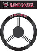 South Carolina Gamecocks Poly-Suede Steering Wheel Cover