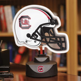 South Carolina Gamecocks Neon Helmet Desk Lamp