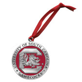 South Carolina Gamecocks Logo Ornament