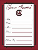 South Carolina Gamecocks Formal Invitations