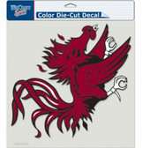 "South Carolina Gamecocks Die-Cut Decal - 8""x8"" Color"