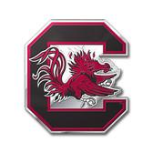 South Carolina Gamecocks Color Auto Emblem - Die Cut