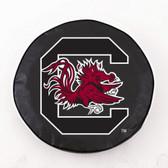 South Carolina Gamecocks Black Tire Cover, Small