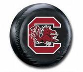 South Carolina Gamecocks Black Spare Tire Cover