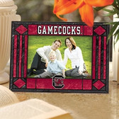 South Carolina Gamecocks Art Glass Horizontal Picture Frame